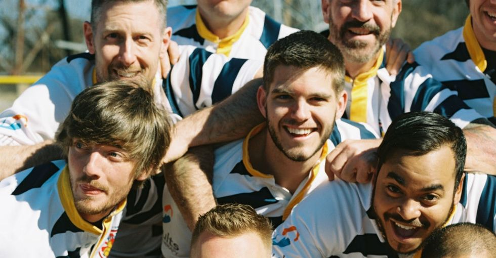 This gay-friendly rugby team took it all off to make a big point about acceptance.