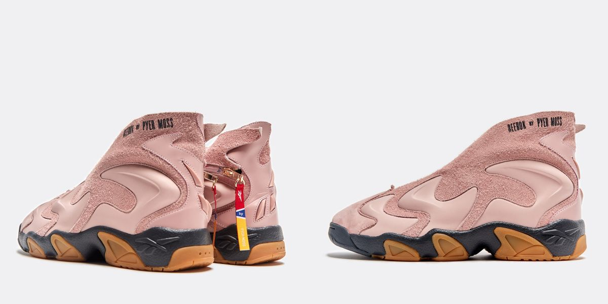Pyer Moss x Reebok Release The Perfect Pink Basketball Shoe