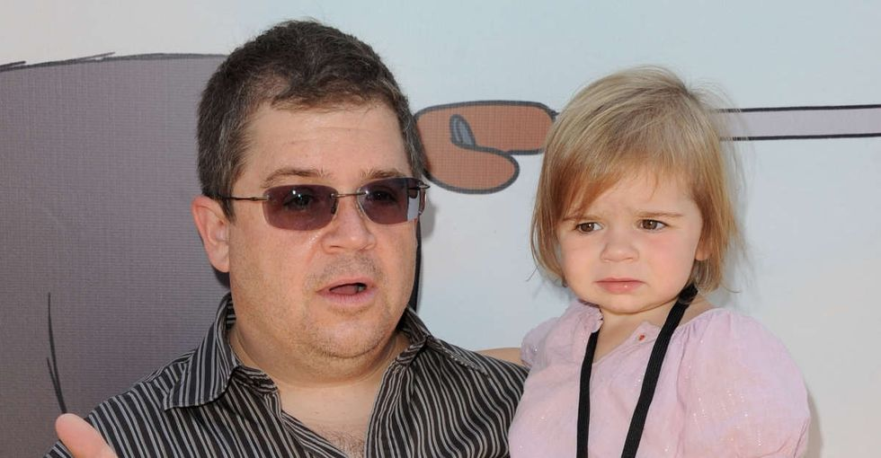 Patton Oswalt's funny, brutally honest description of being a dad after losing his wife.
