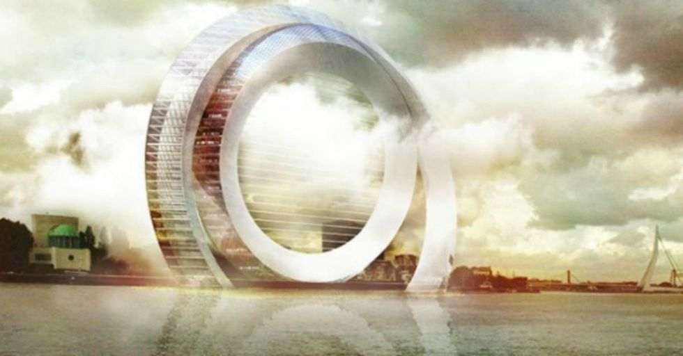 First we had windmills. Then wind turbines. Now it's time to meet the Windwheel.