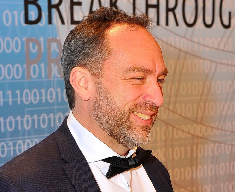 This Wikipedia founder's new venture? A cellphone carrier that puts your bill to good use.