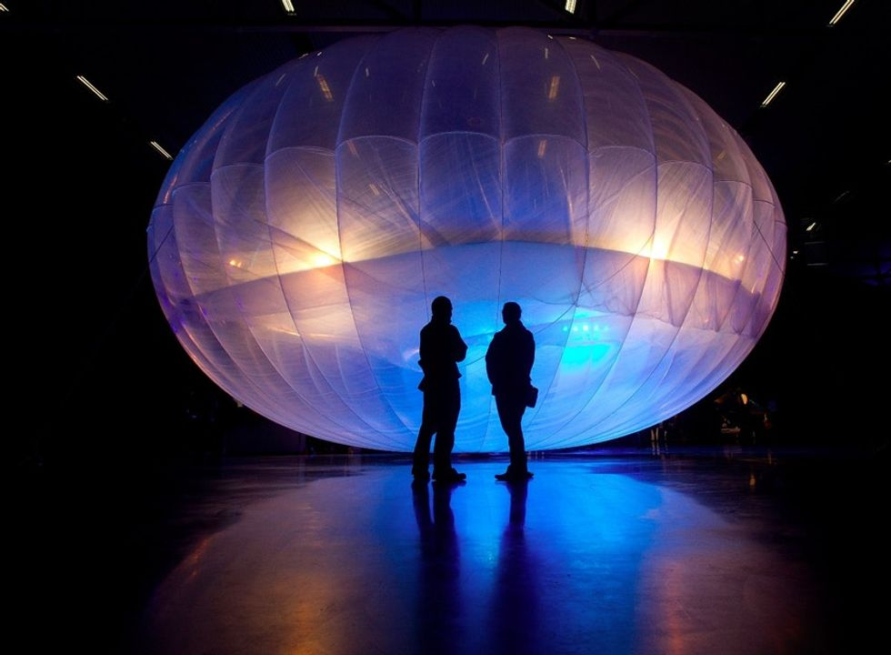 How Google plans to use 13 balloons to bring Internet access to every person in Sri Lanka.