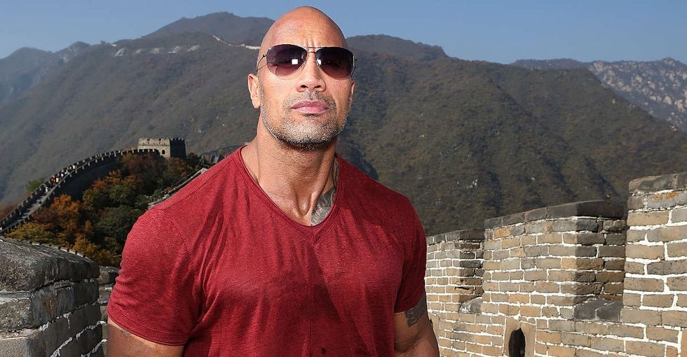 When The Rock heard about a sick puppy named after him, he didn't waste time.