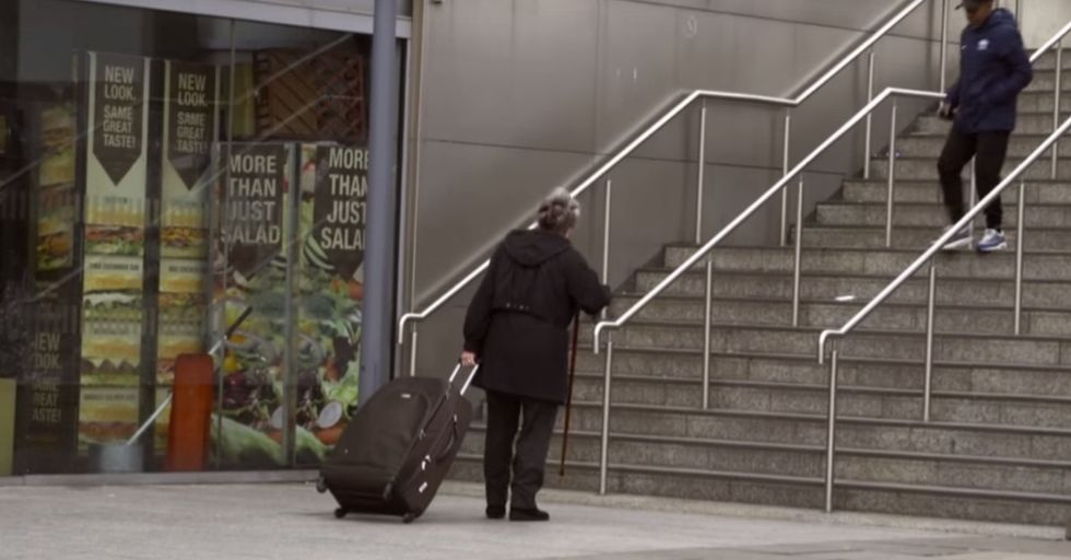 Watch the social experiment that asks: If you saw these people, would you stop to help?