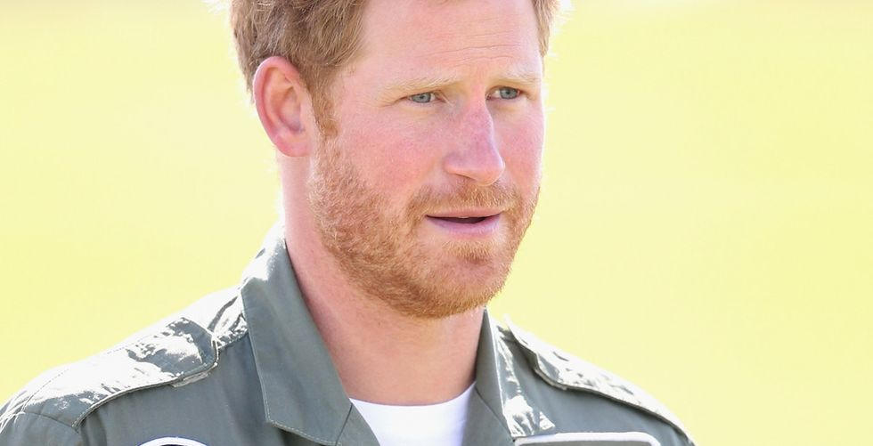 Prince Harry walked alongside veterans to send a powerful message about the injuries we don't see.