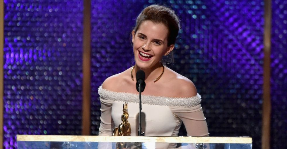 Sexism in Hollywood is rampant, and Emma Watson says her career proves it.
