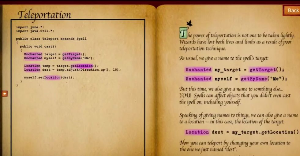 She turned code into 'spells,' and the results are very Harry Potter. In the best way.