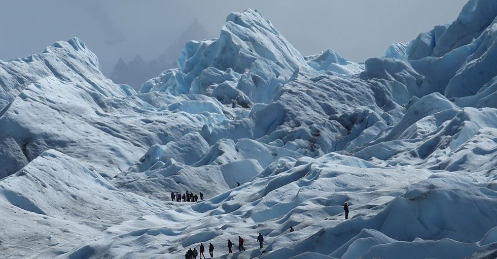 17 chilling photos of glaciers that could melt even the hardest politician's heart.