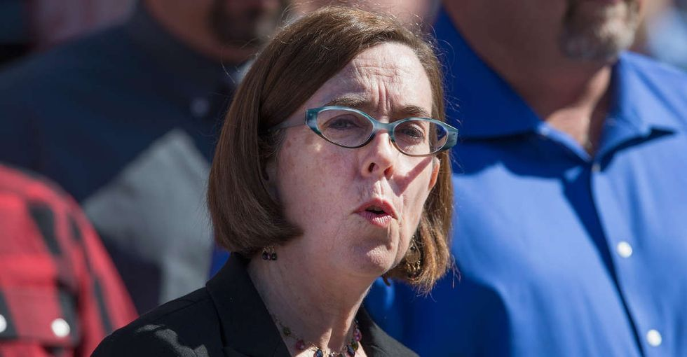 Why it matters that Oregon's governor revealed she had experienced domestic violence.