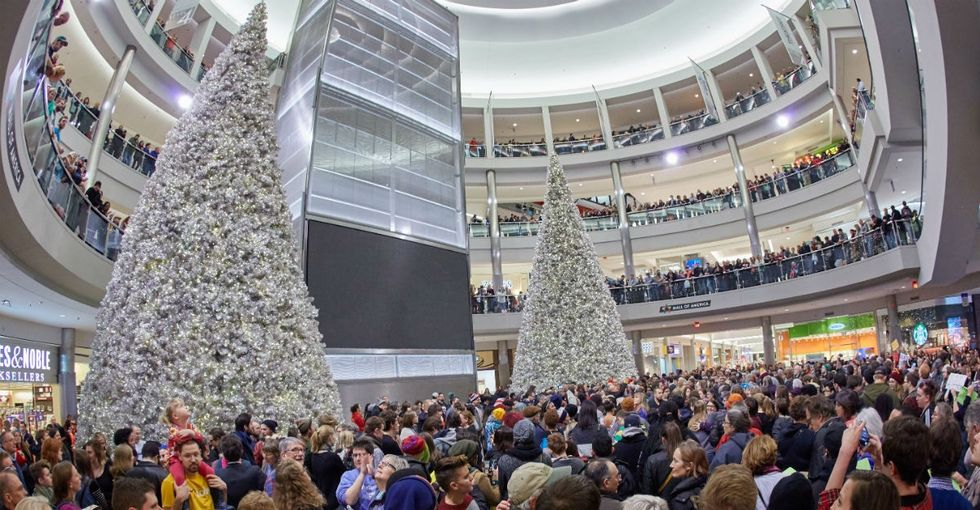 The Mall of America will close on Thanksgiving. With 15,000 workers, that's huge.