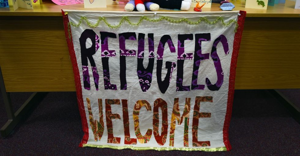 13 photos show a heartwarming welcome waiting for refugees in Northern Ireland.