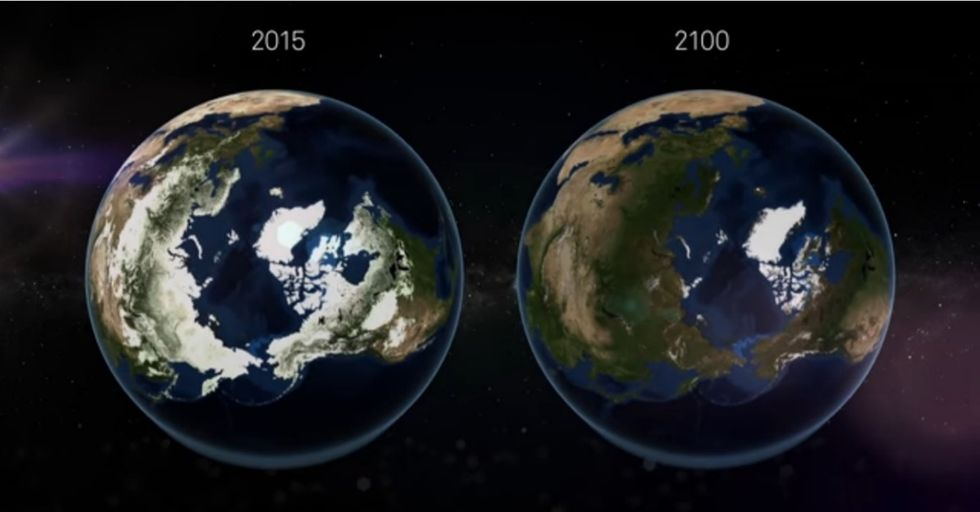 This prediction about the 22nd century may leave you — and the Earth — out of breath.