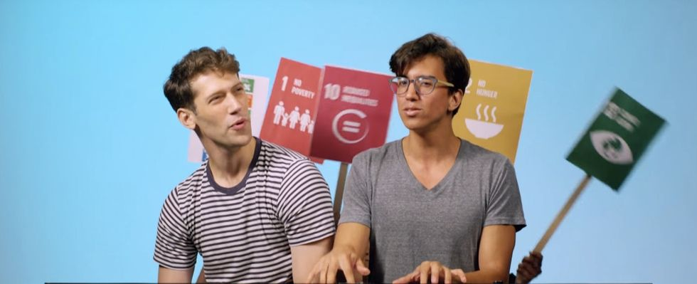 2 guys show you the 3 ways our world can be a heck of a lot better by 2030.