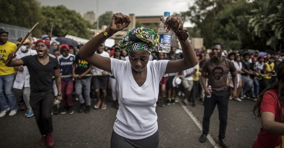 Haven't heard about South Africa's gripping protests? 11 quick points will get you up to speed.