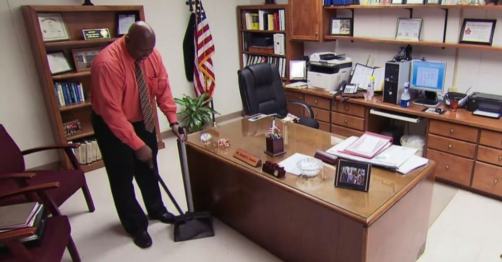 10 words stuck with Mr. Sonnier for 15 years. They turned him from janitor to principal.