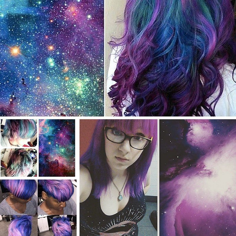 People are dyeing their hair like space, and it's awesome. - Upworthy