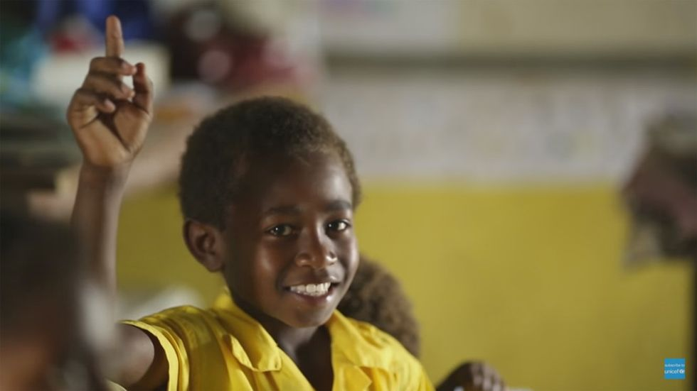 How a year of storms and drought has changed one child's education.