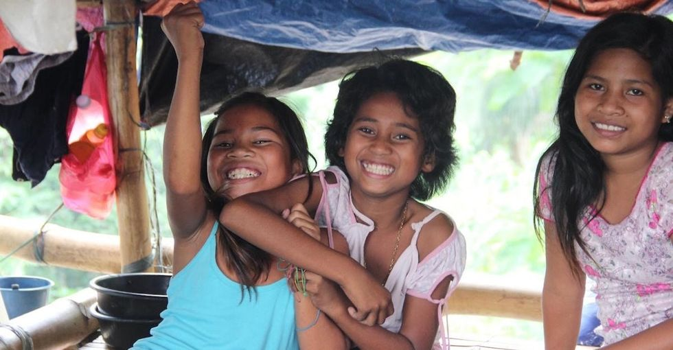 These 6 photos show what life is like in a Philippine refugee camp.