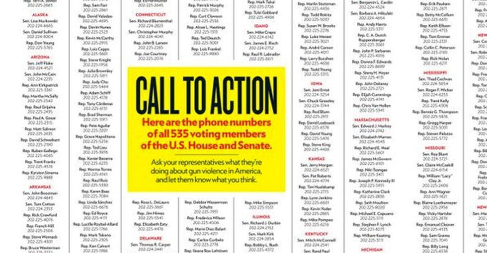 That time People magazine got serious about gun violence and encouraged readers to do something