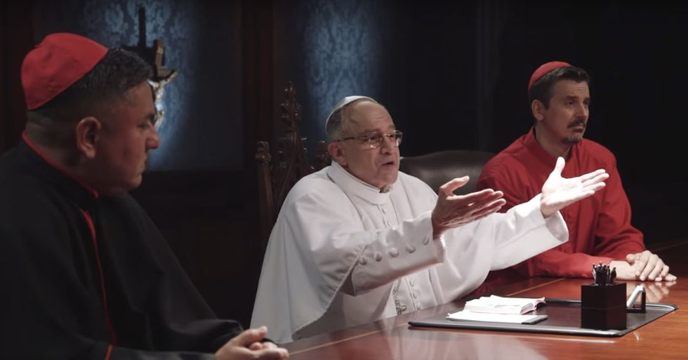 A parody of 'The Apprentice' puts real words from Catholic presidential candidates in perspective.