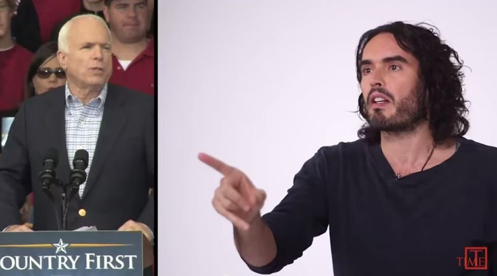 Here's 2 minutes of absolute truth about political revolution from Russell Brand.