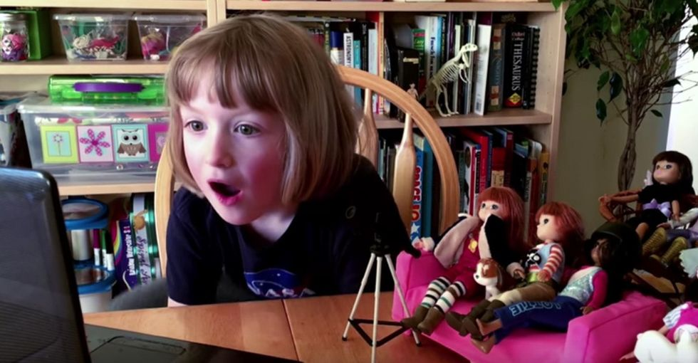 See the toy designed by a 6-year-old that was literally launched into history.