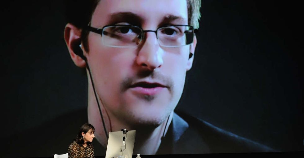 Edward Snowden just joined Twitter, and his first tweet is a classic.