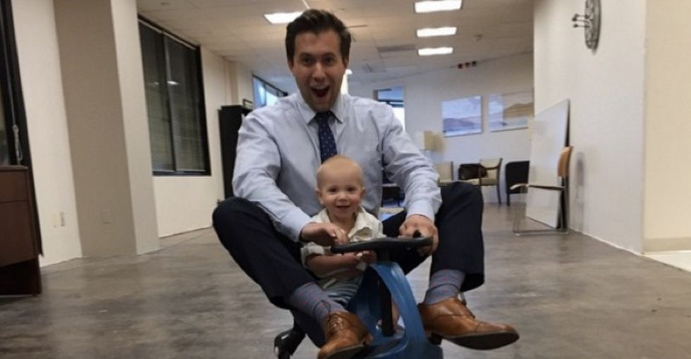 Dear companies: Maybe it's time to realize that your dad employees are parents too.