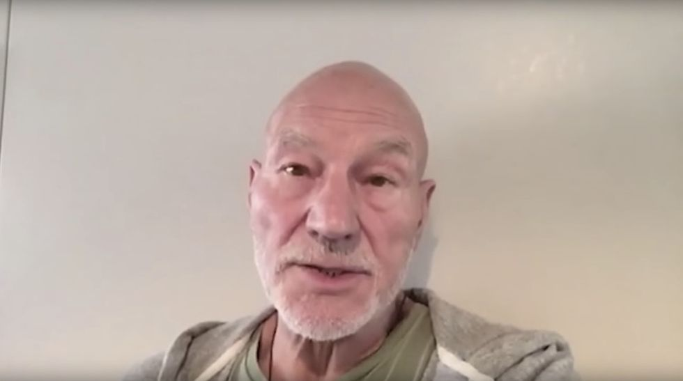 Patrick Stewart and other celebs point out 2 words people keep confusing about the refugee crisis.