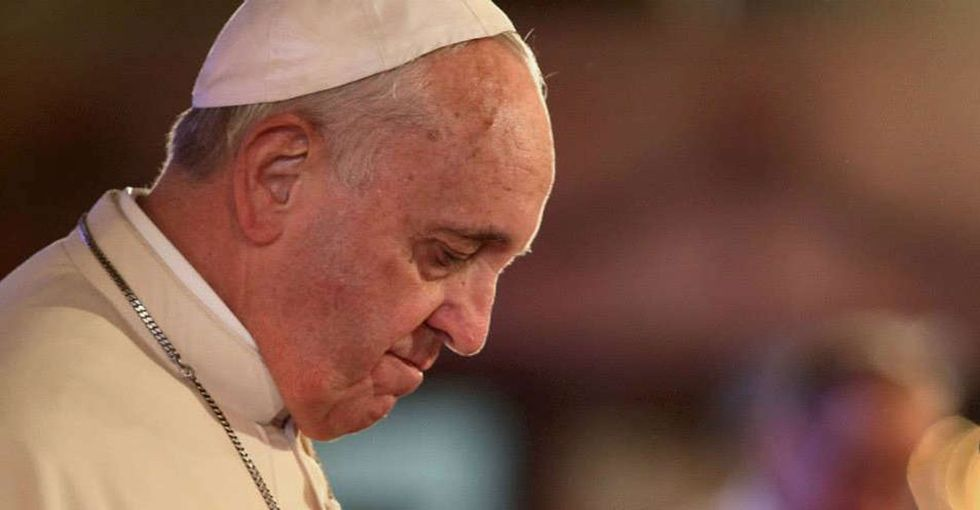 Pope Francis dropped the hammer on climate change at the White House. Here are his 3 best quotes.