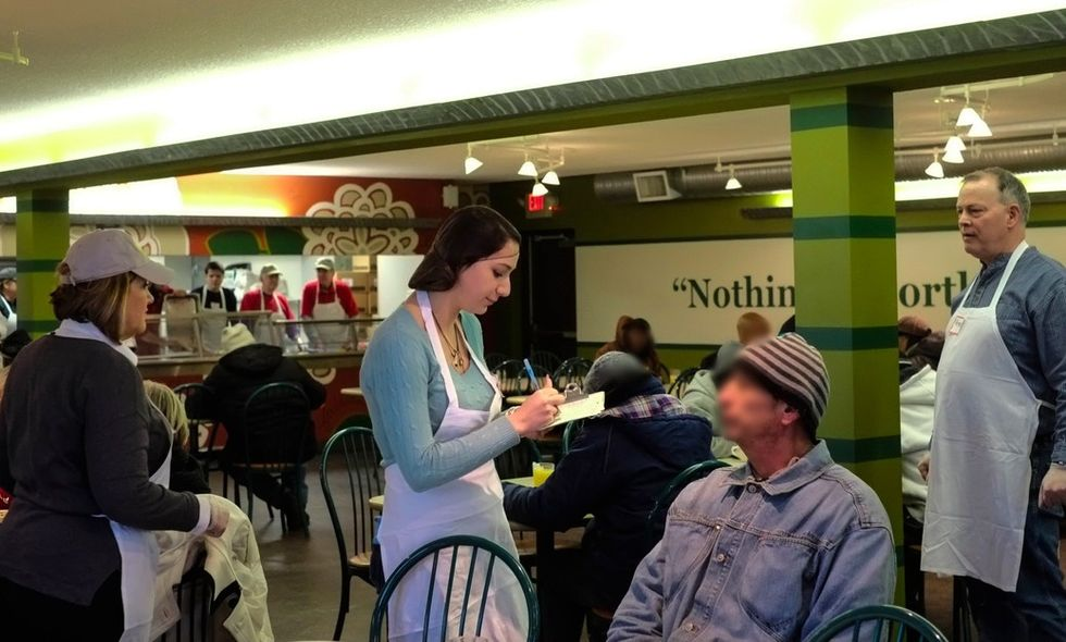 A soup kitchen disguised as a restaurant is making a big difference in Kansas City.