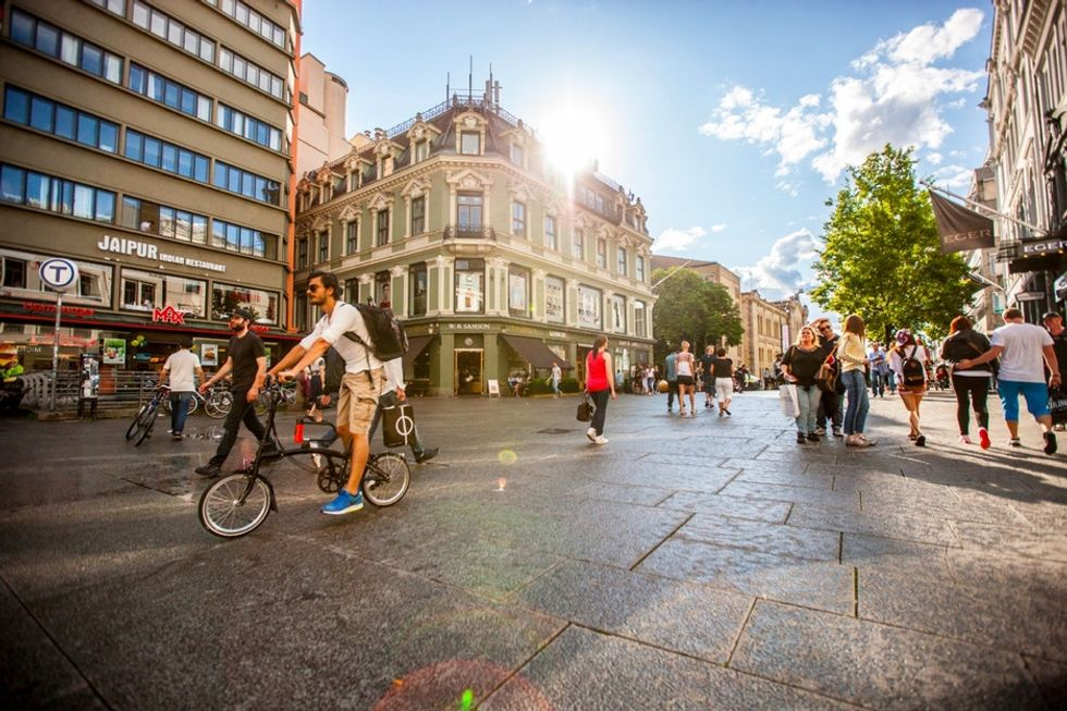 How this major city in Norway plans to help rid its streets of traffic by 2019.