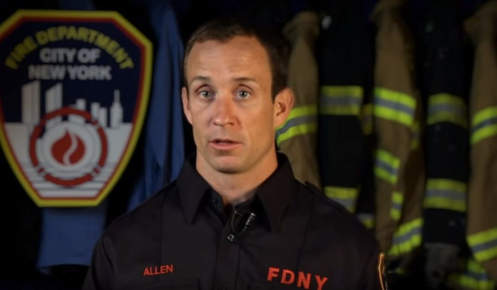 New York City firefighters just sent a powerful message to young LGBT people.