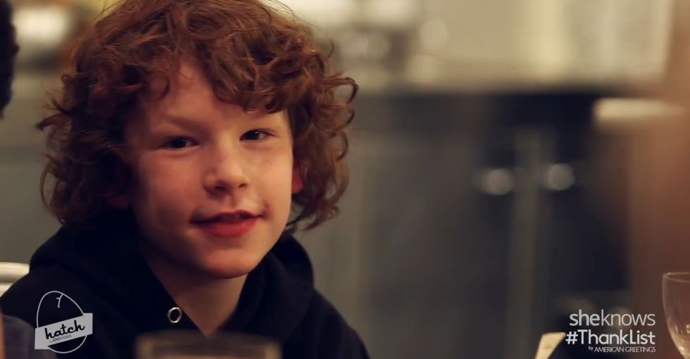 What are you thankful for? The simplicity in these kids' answers is heartwarming.