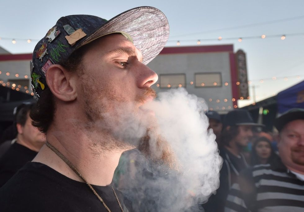 How did Oregon fare in its first week of recreational pot sales? These photos tell the story.