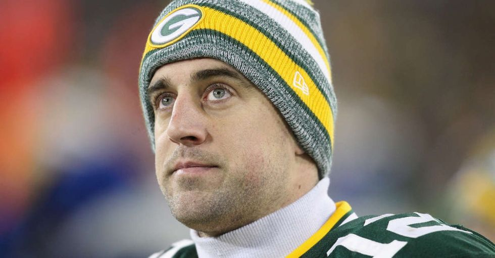 When a fan yelled anti-Muslim comments before a Packers game, Aaron Rodgers couldn't let it stand.
