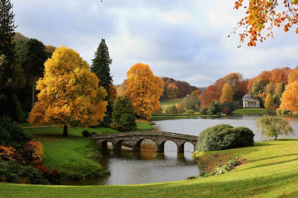 Autumn is gorgeous in England and the U.S., but there's one big difference between the two.