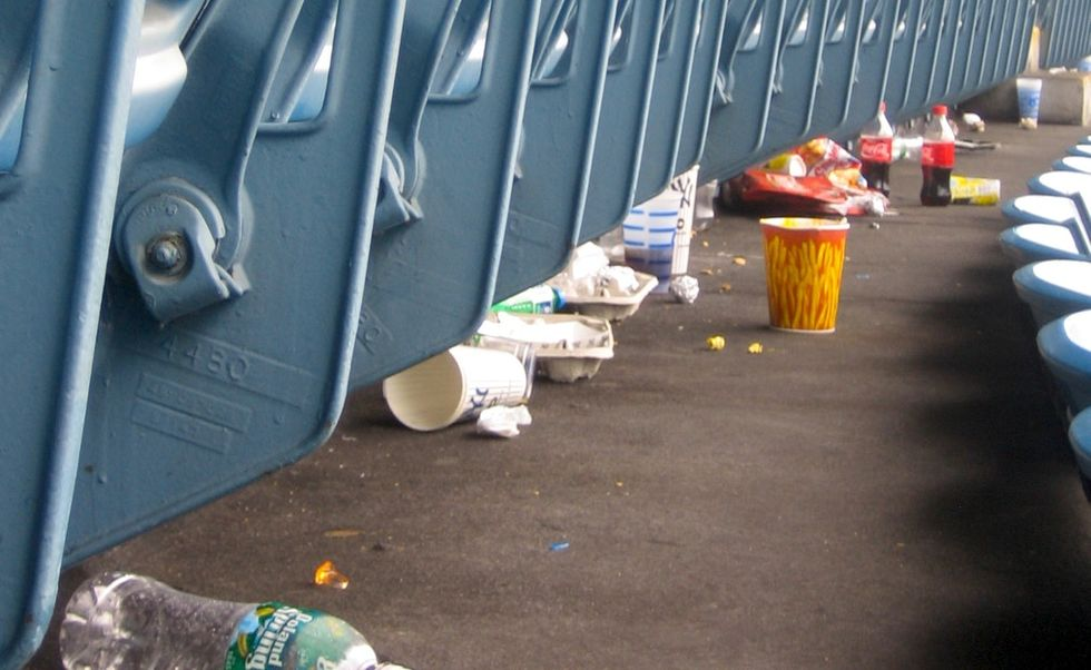 Sporting events create a ton of waste. Stadiums like this one are trying to fix that.