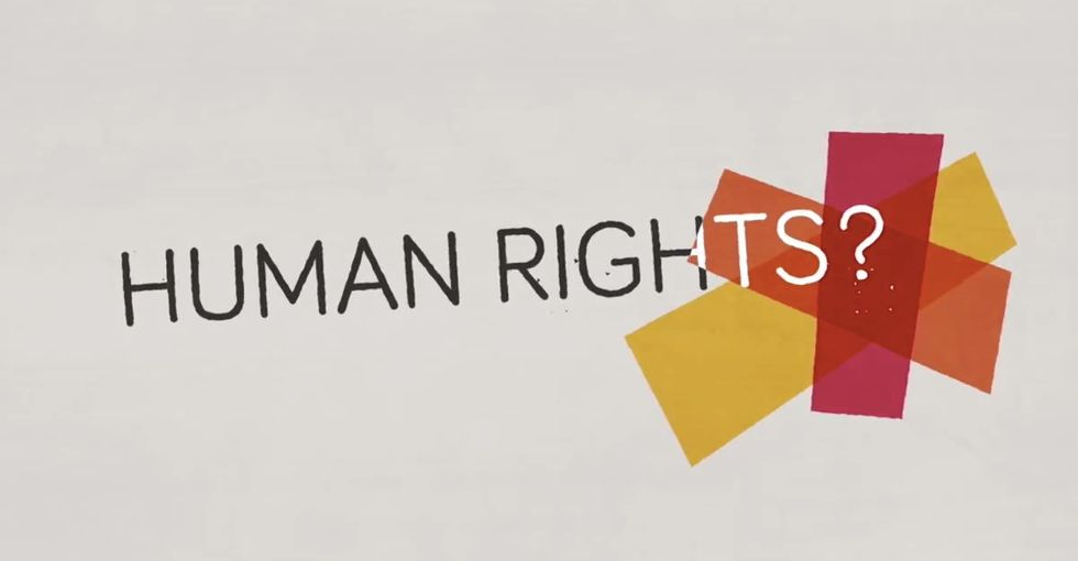 A short animation brilliantly breaks down the basics of human rights.