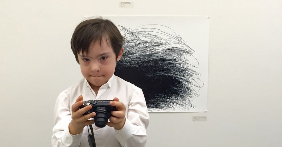 Meet the father-son duo sharing their disability experiences through art.