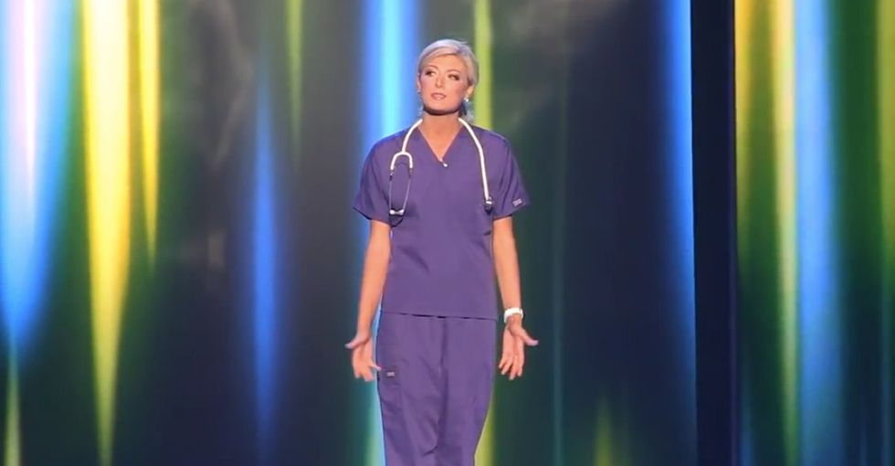 At the Miss America pageant, one contestant said what we all needed to hear about nurses.