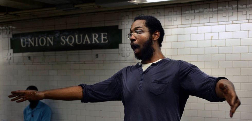 After their subway performance, 3 singers received a thank you note they'll never forget.