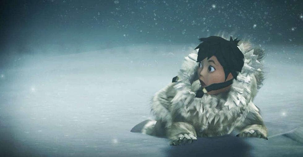 An Alaska Native group decided to make a video game. It's like nothing you've ever played before.