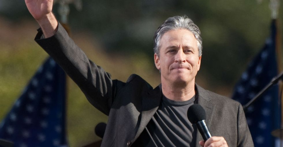 Jon Stewart's beautiful 12-acre farm is now a safe haven for abused animals.