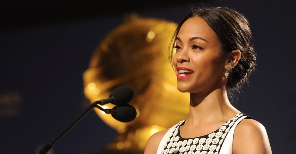 Zoe Saldana's response to anti-immigration hate is a must-read.