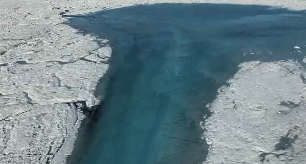 Why are new rivers carving through Greenland, and can we stop them?