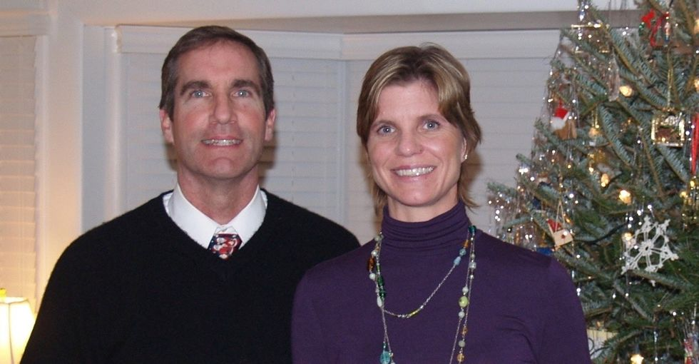 Her husband's disease isn't covered by the VA. So she's sharing his story.