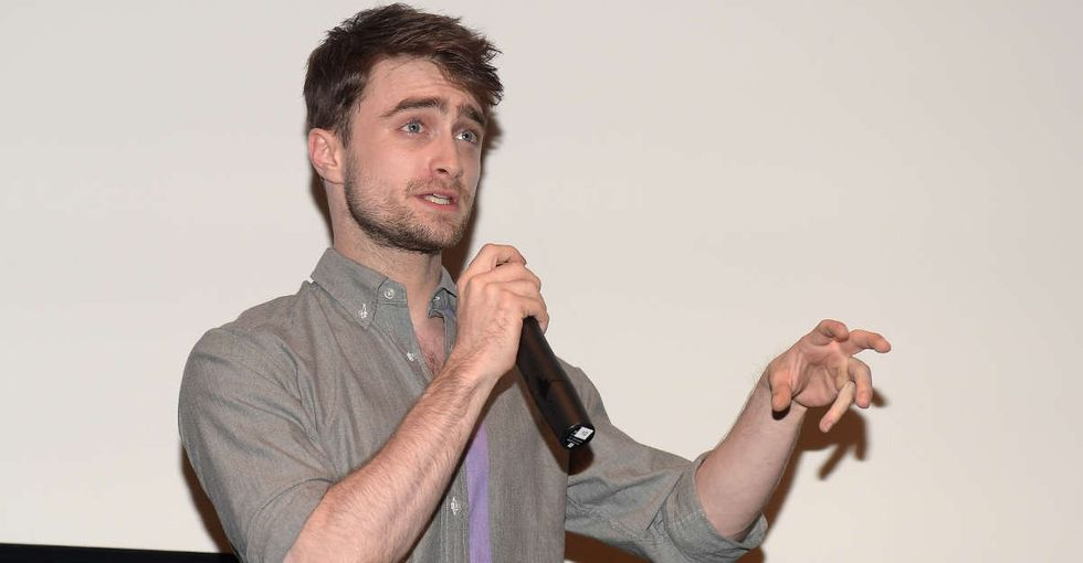 Daniel Radcliffe's emotional tribute to Alan Rickman contains a lesson for all of us.