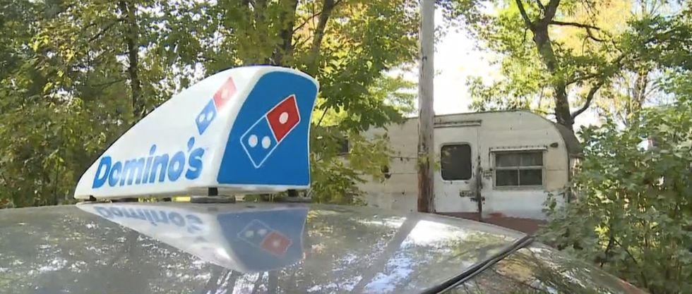 There are times when a pizza delivery makes your day. This delivery changed a 76-year-old's life.