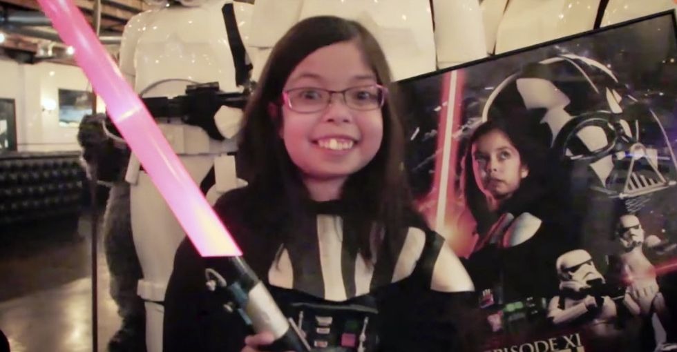 'Darth Vader Girl' is the most heartwarming hospital story you'll see today.